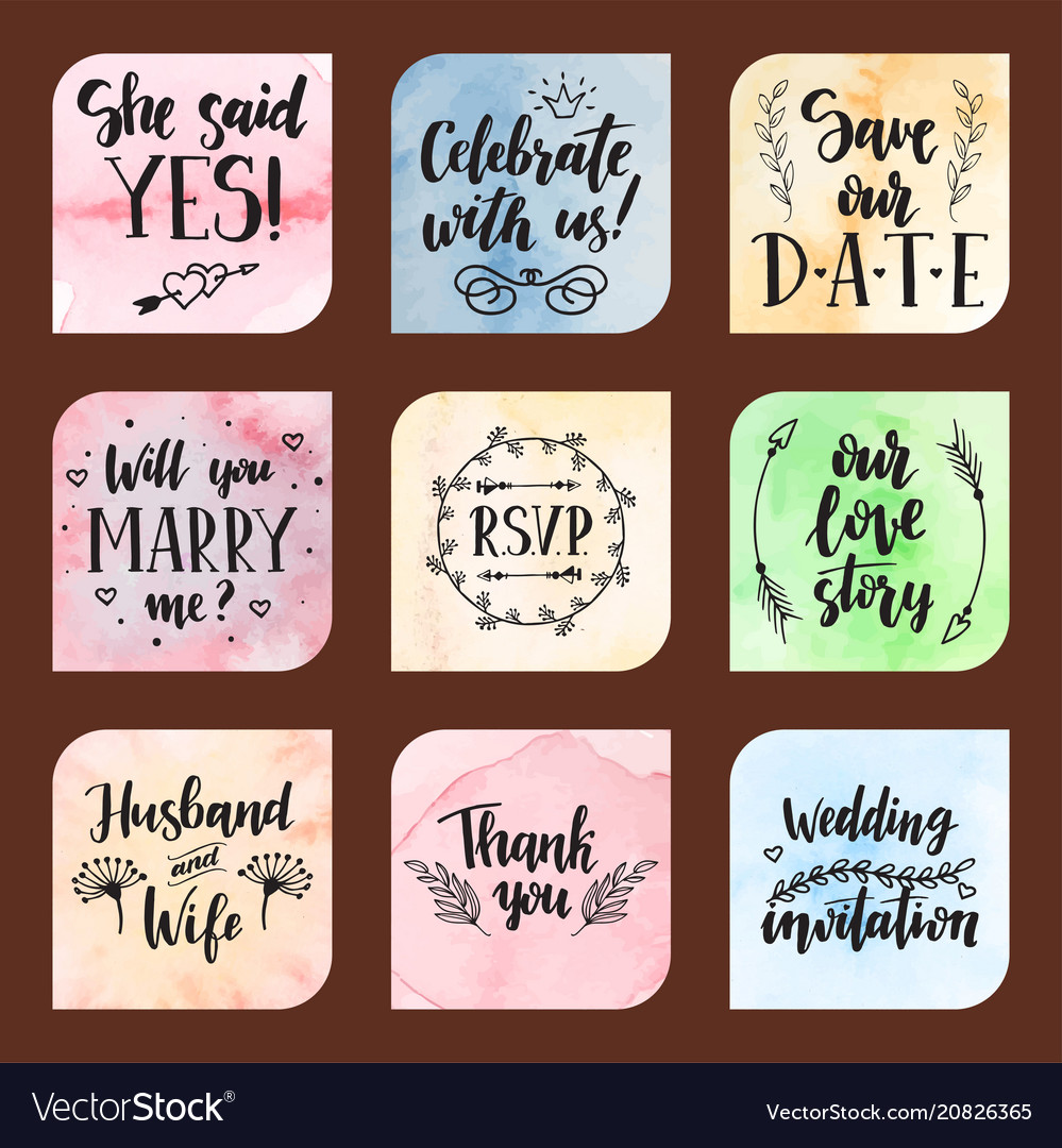 Wedding day marriage proposal phrases text