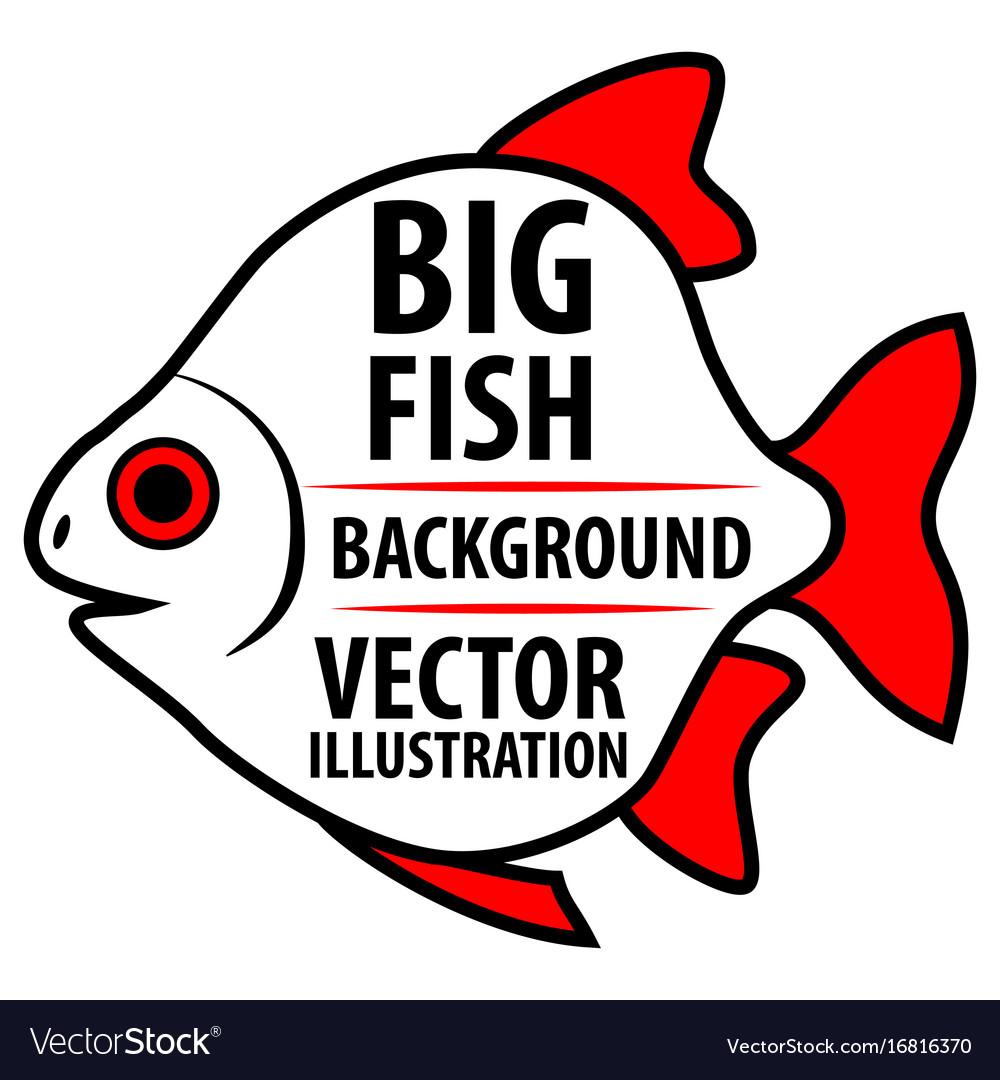 Big fish background