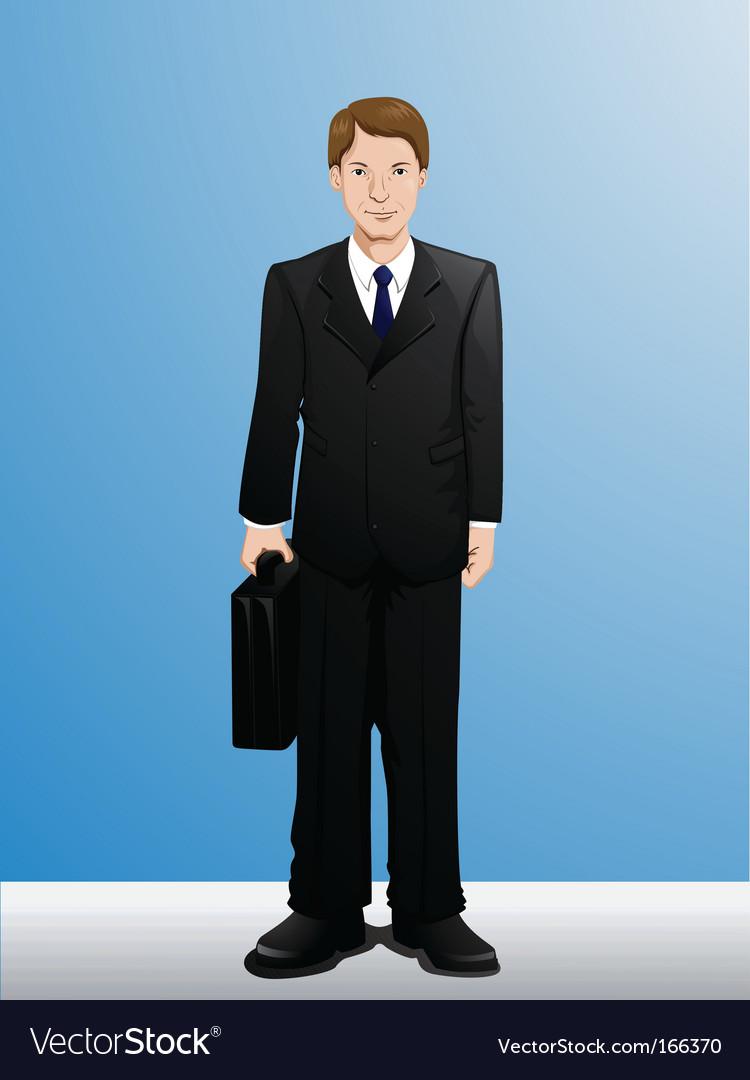 businessman royalty free vector image vectorstock