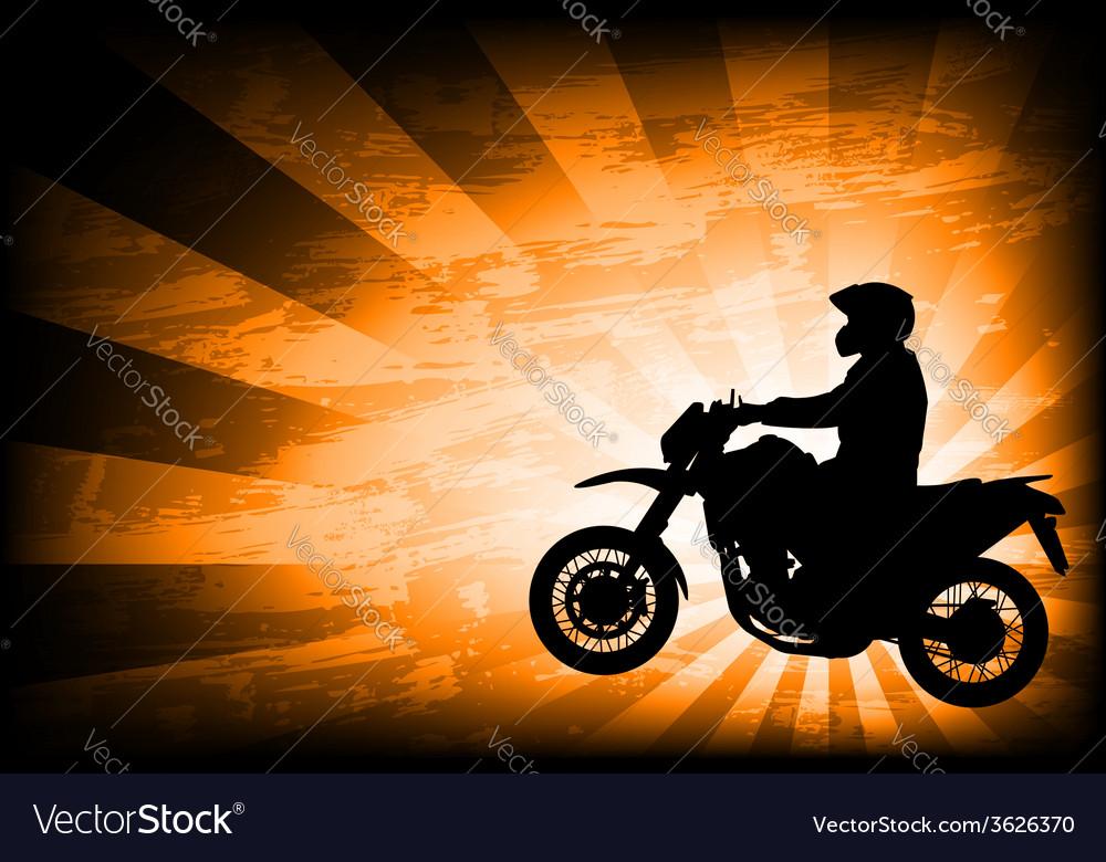 Motorcyclist background 3
