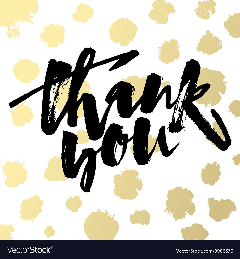 Thank you card hand lettering motivation poster