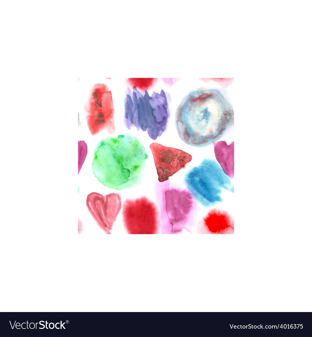 Abstract watercolor art hand paint seamless