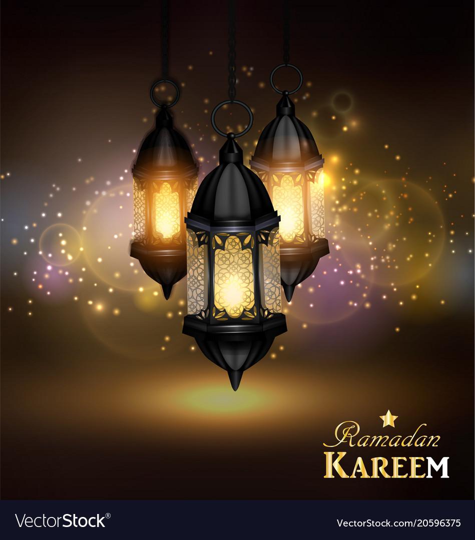Ramadan kareem greetings royalty free vector image ramadan kareem greetings vector image m4hsunfo