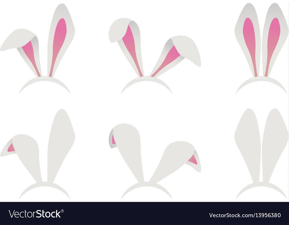 Easter bunny ears mask