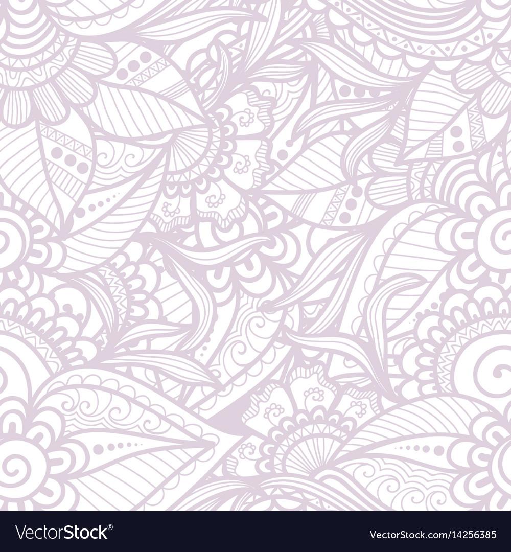 Flower seamless pattern element