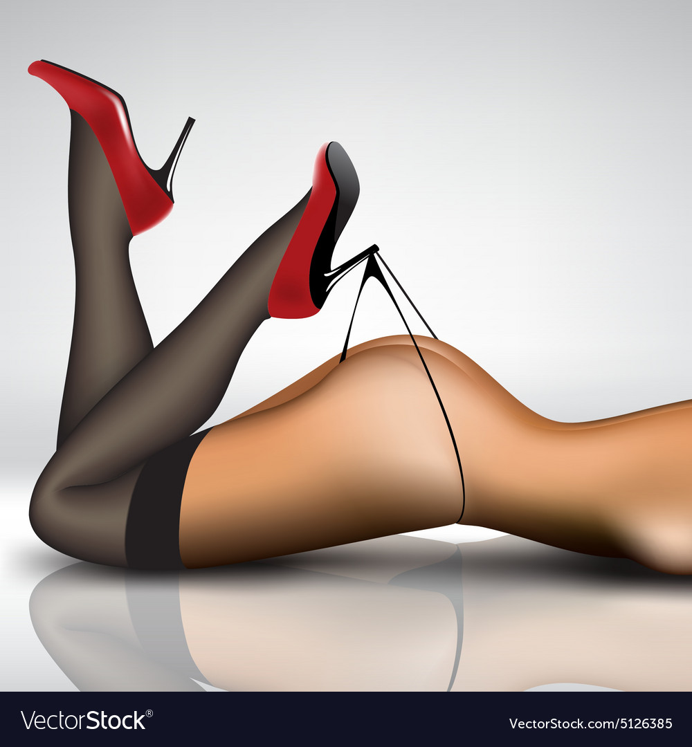 stockings high heels
