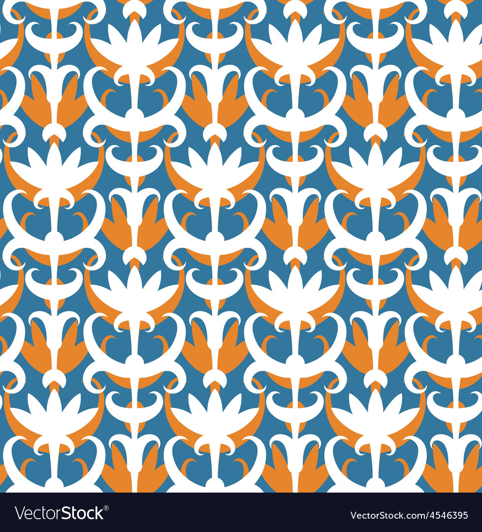 Abstract floral seamless pattern Classic ornament