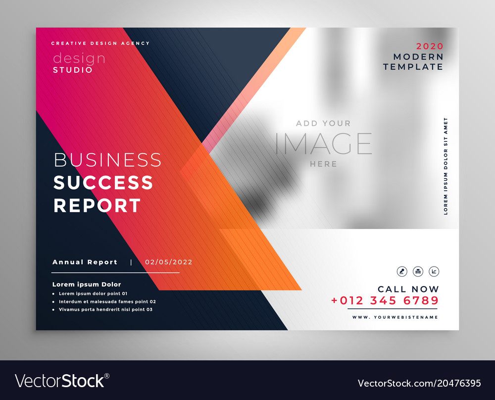Creative business flyer design template vector image on vectorstock creative business flyer design template vector image cheaphphosting Gallery