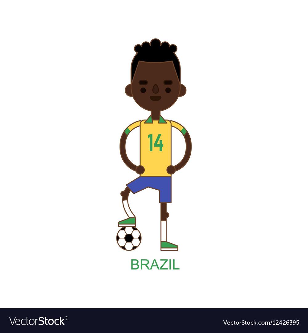 National brazil soccer football player
