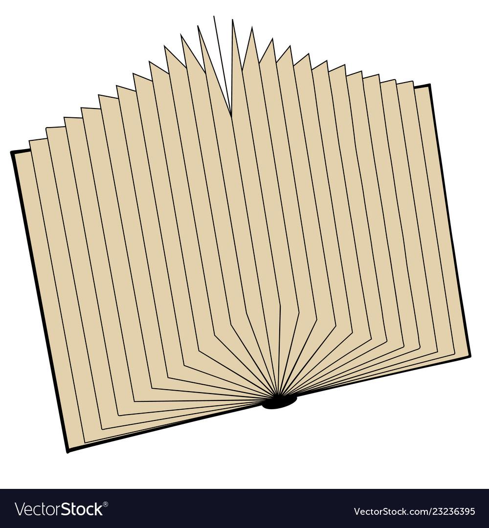 Open book in