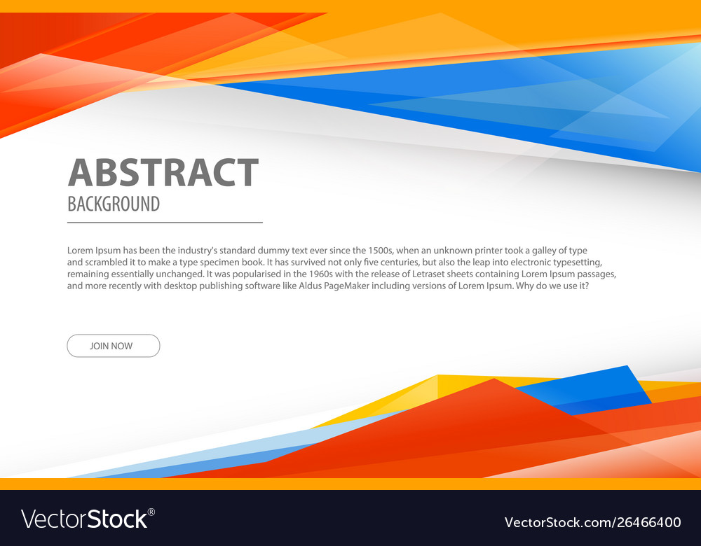 Abstract background geometric modern business
