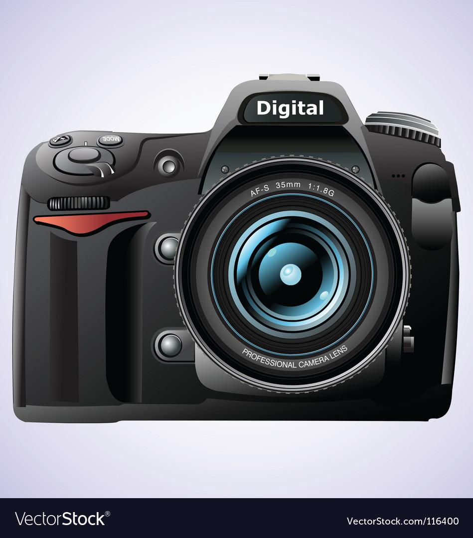 Photo and camera vector vector image