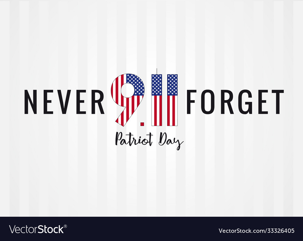 9 11 never forget partiot day usa poster