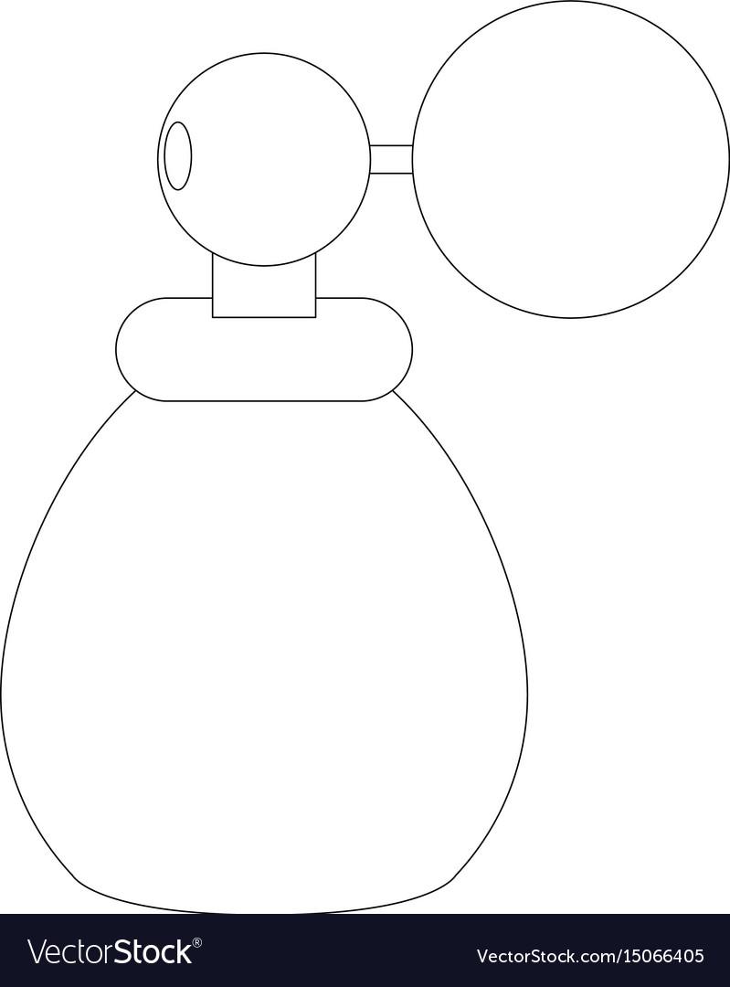 Fragrance glass bottle