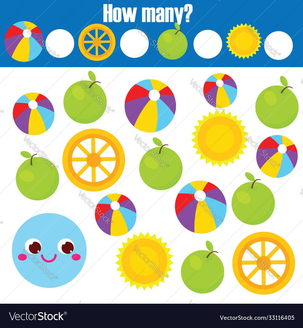 Mathematics educational children game study
