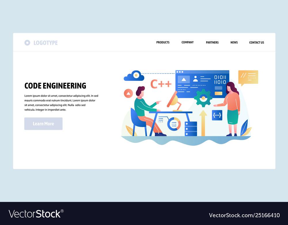 Web site design template programmer write