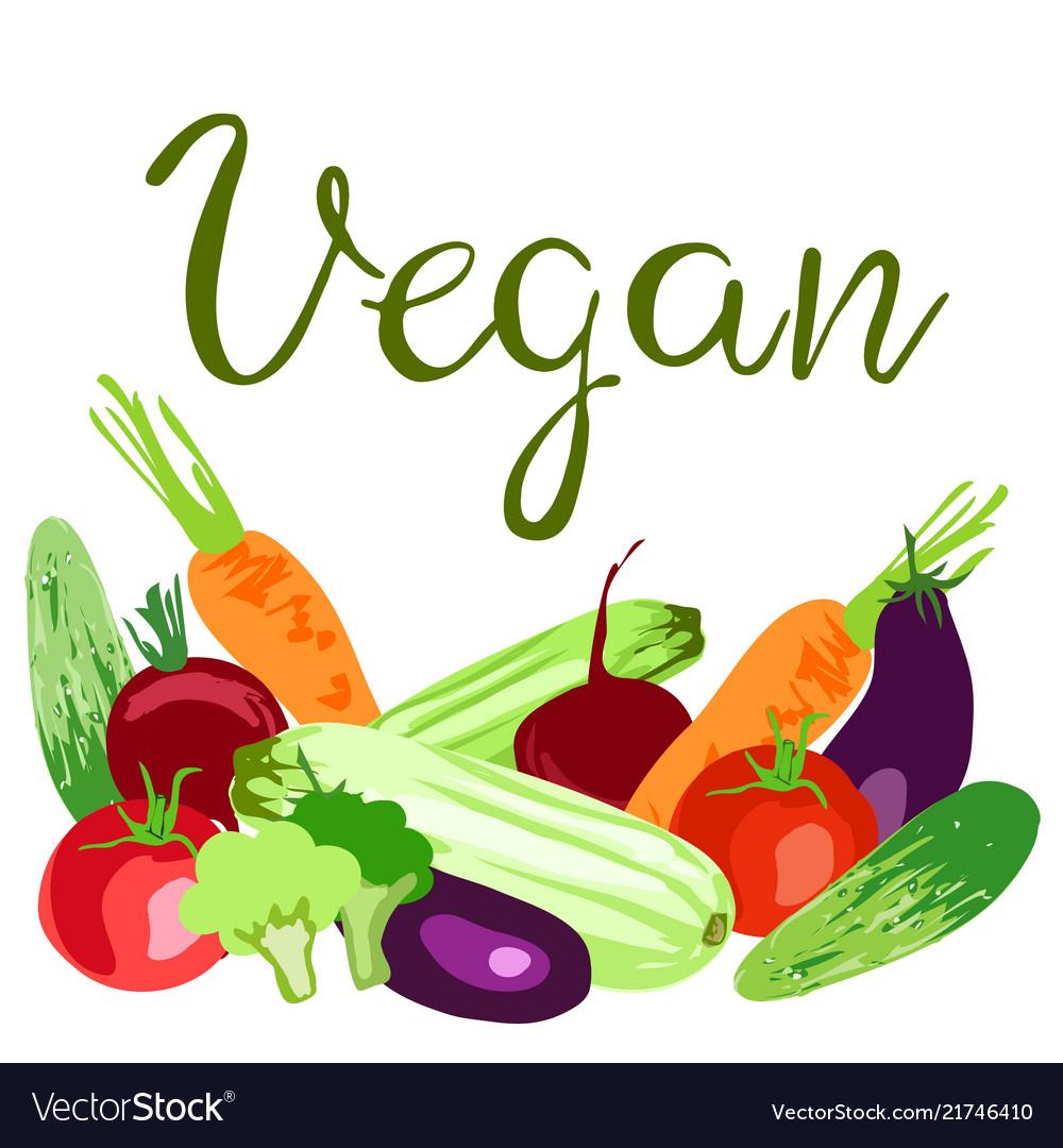 World vegan day concept