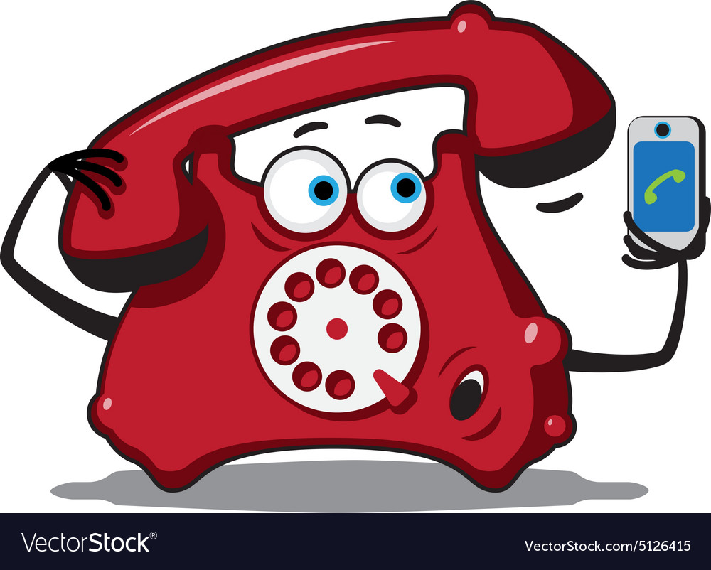 Classic Wire Telephone Royalty Free Vector Image How To A