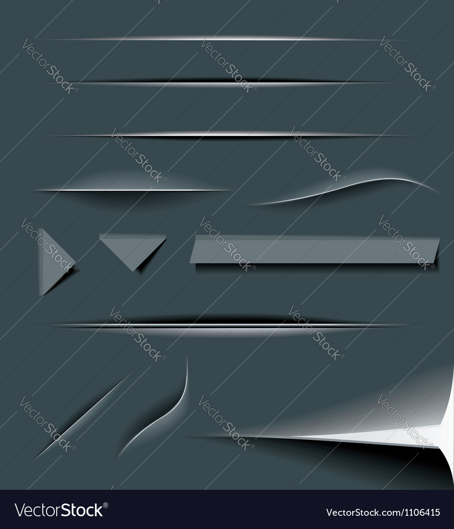 Paper Cut Dividers