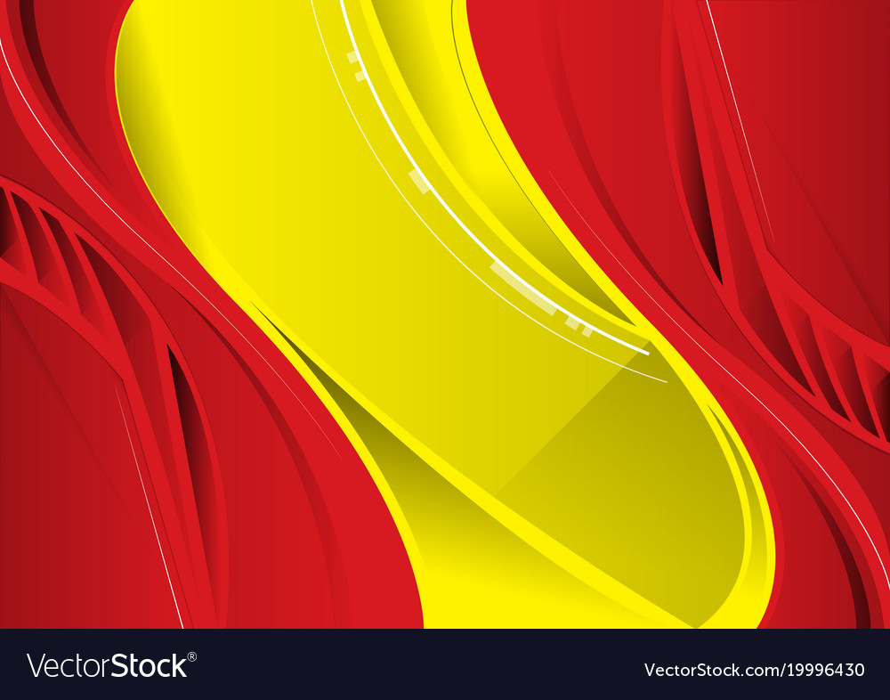 Abstract Red And Yellow Background Royalty Free Vector Image