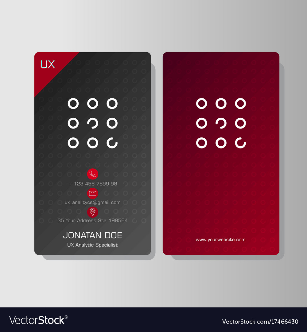 Multipurpose creative business card royalty free vector multipurpose creative business card vector image reheart Gallery