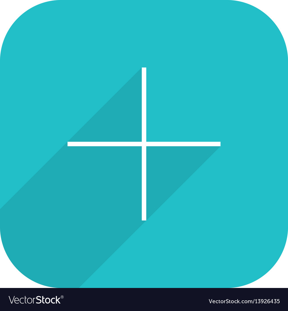 Canva social network icon add followers vector image