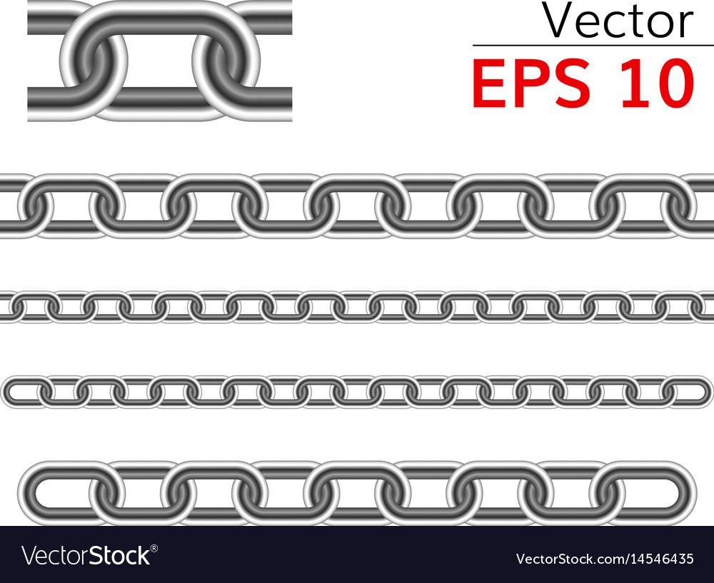 Seamless chain range vector image