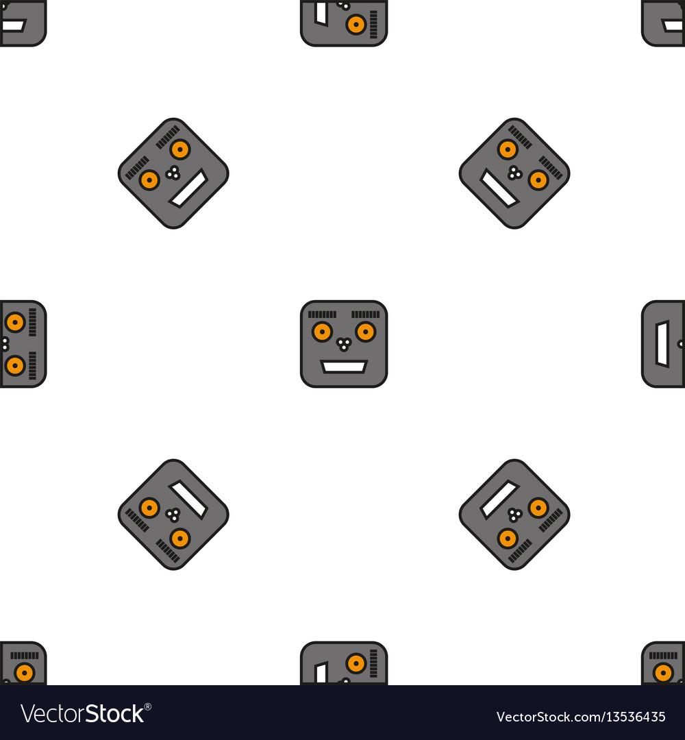 Seamless pattern of robots