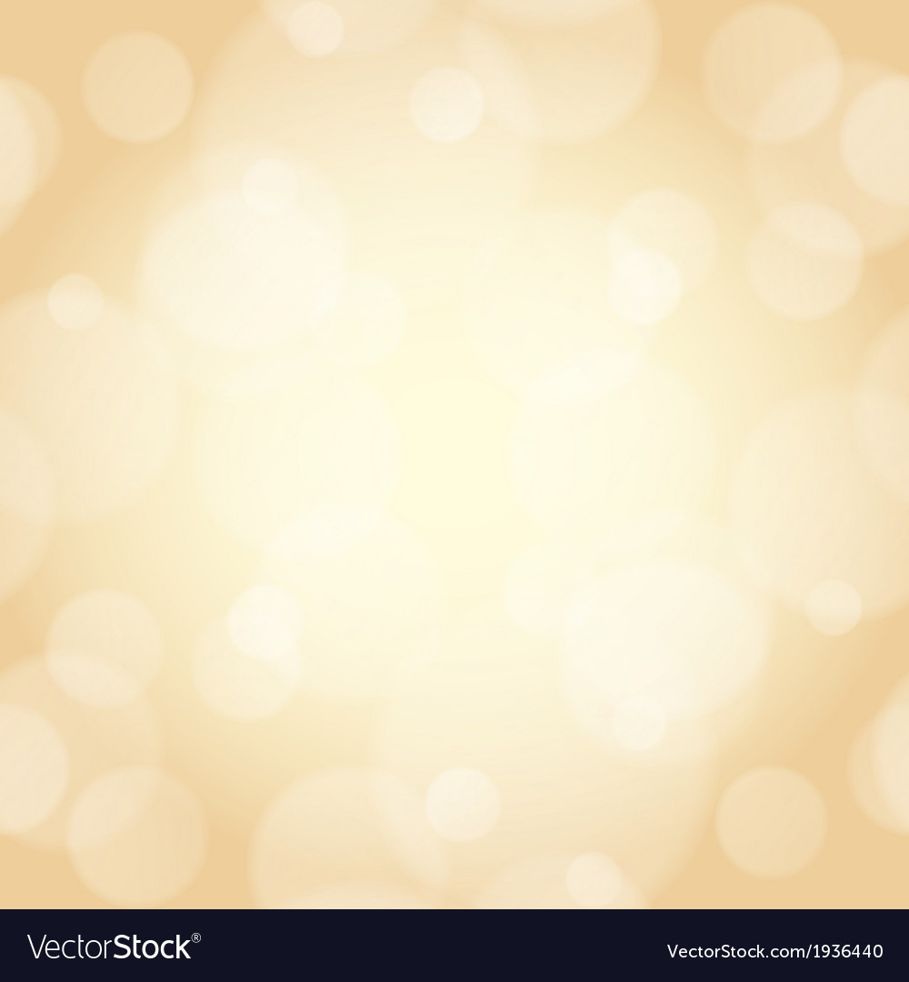 Beige background with bokeh effect