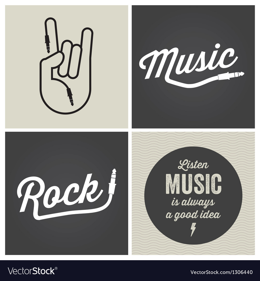 Music type font music type font