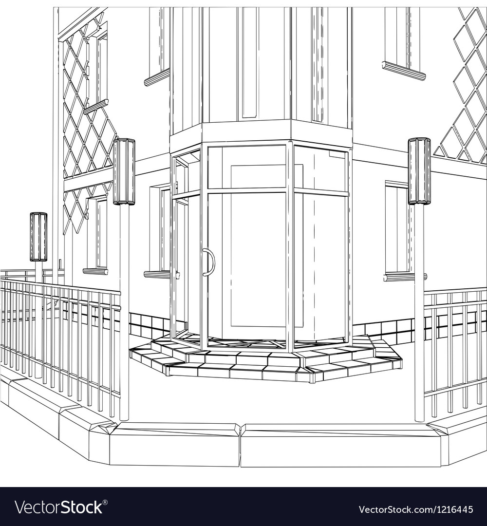 3D construction of building