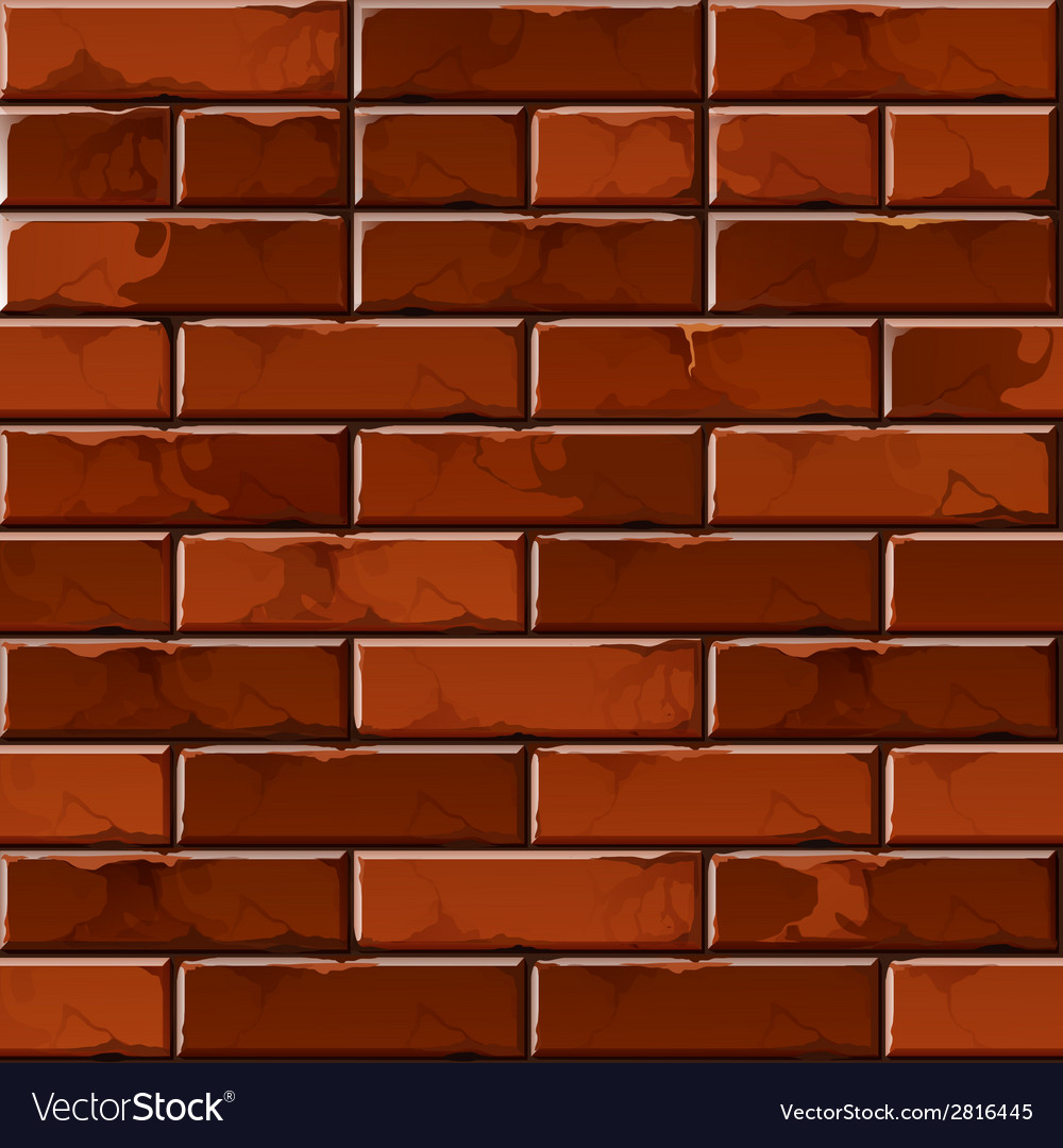 brick wall background texture pattern royalty free vector
