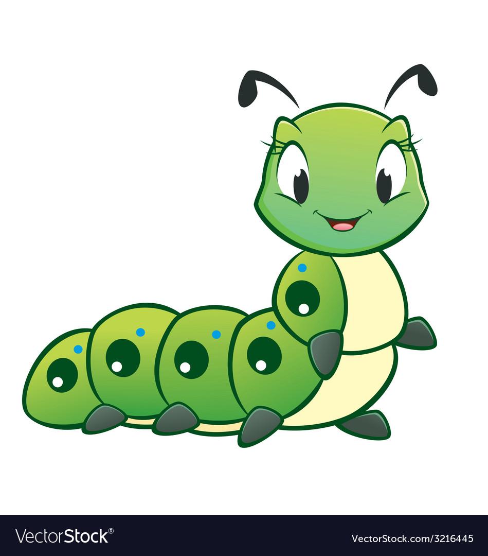 Cartoon Caterpillar