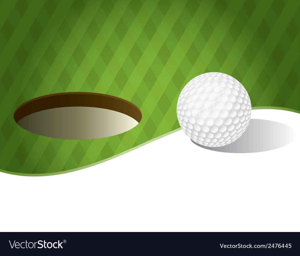 Golf Ball With Copyspace