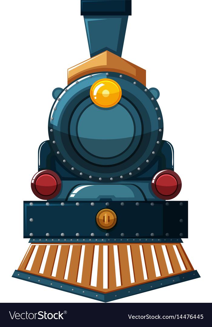 Train design on white background vector image