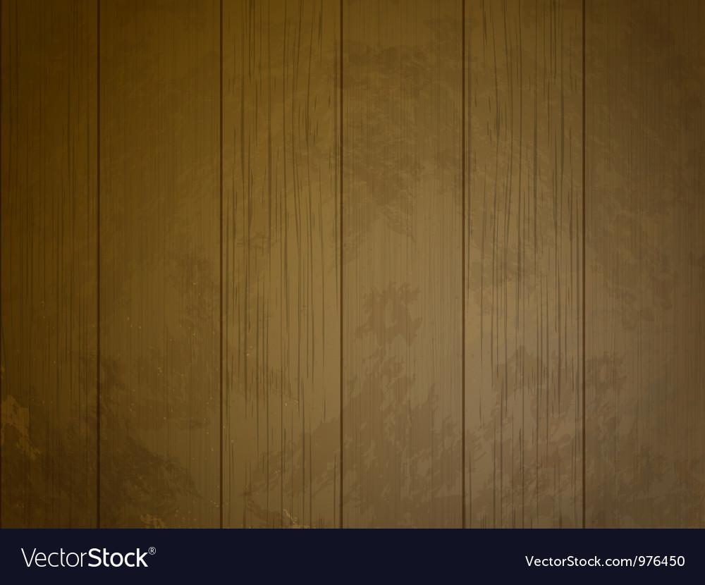 Grunge Wood Panel Background Vector Image
