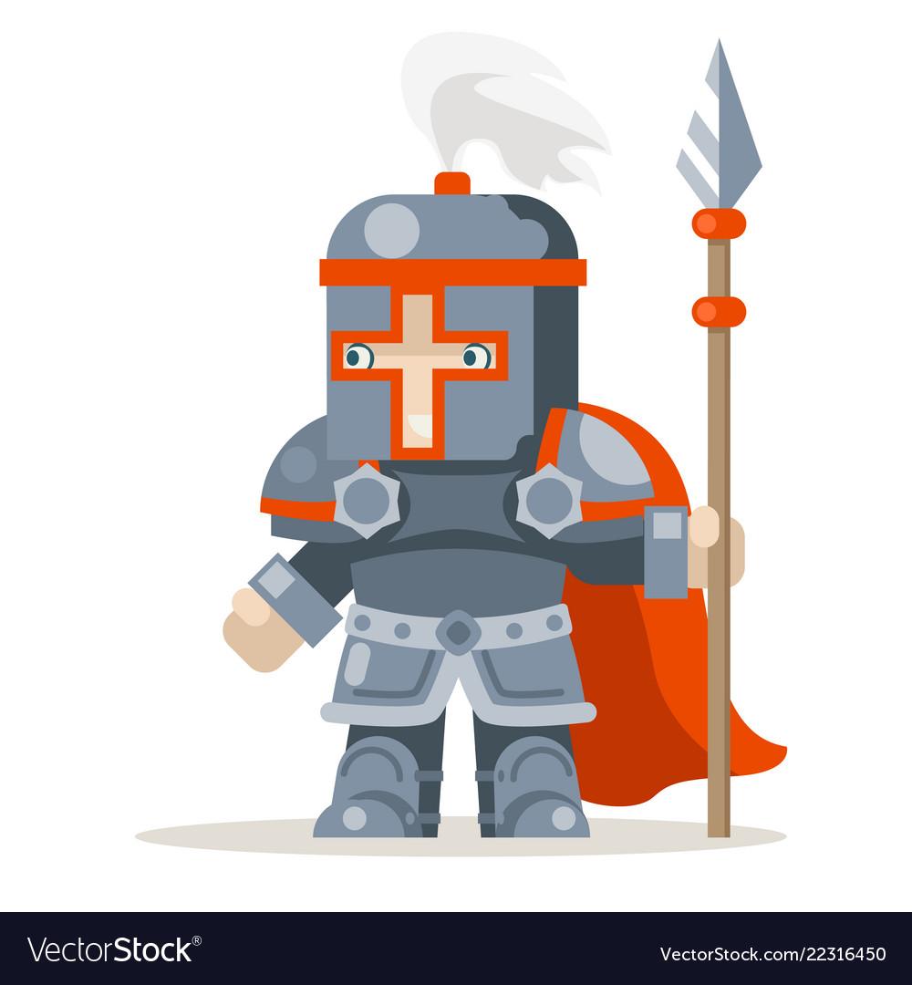 Guardian lance knight spearman fantasy medieval