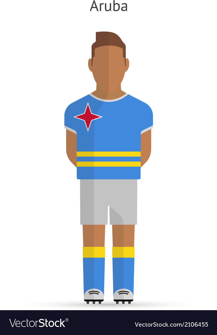 Aruba football player Soccer uniform