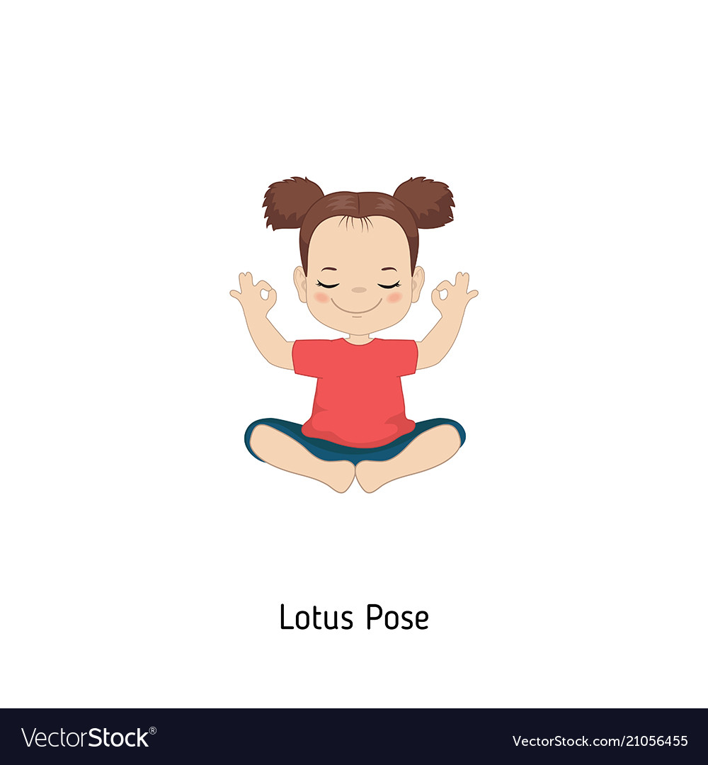 Child doing yoga child doing yoga