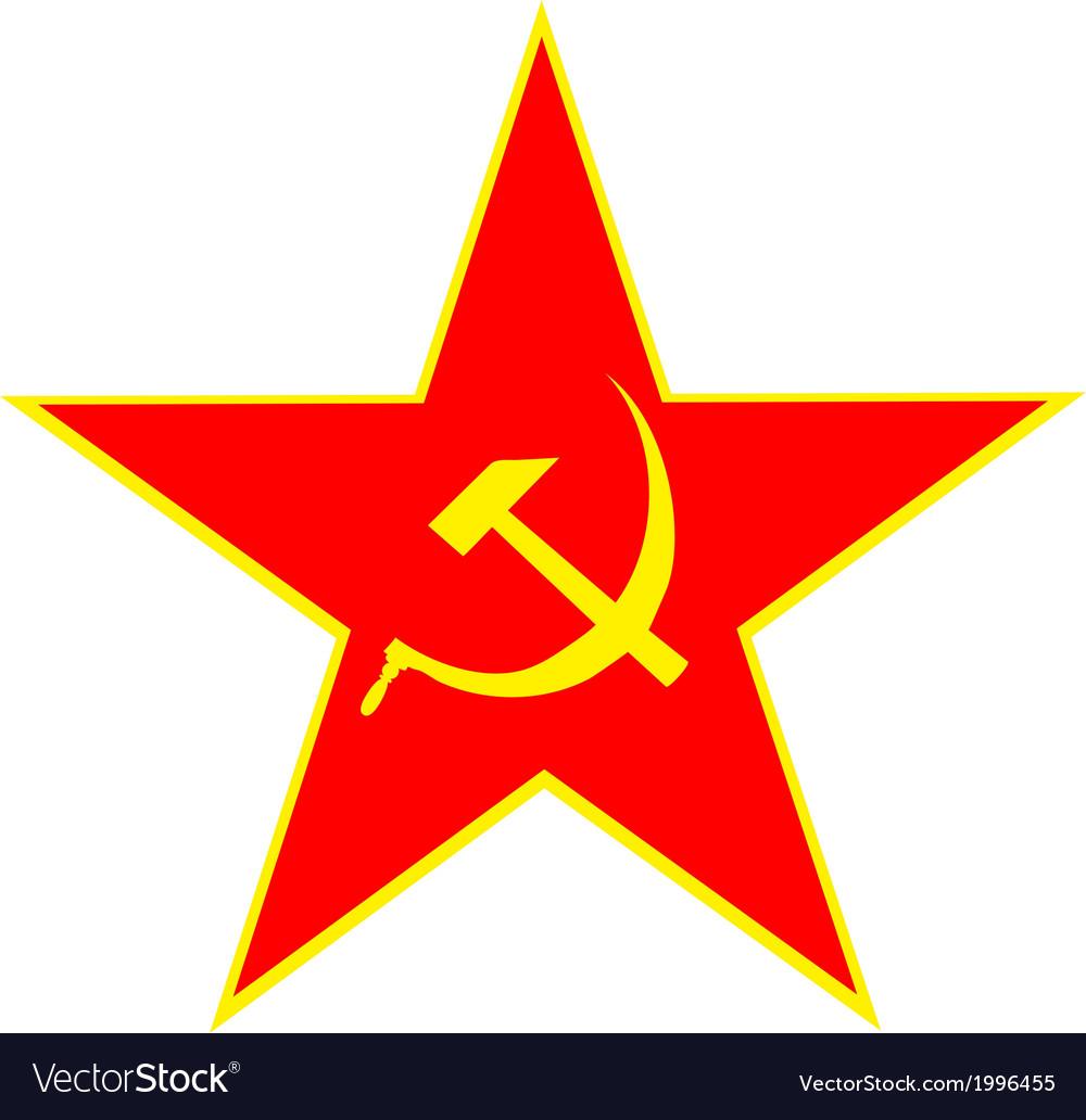Communist Symbol Star Star Vector Fre...