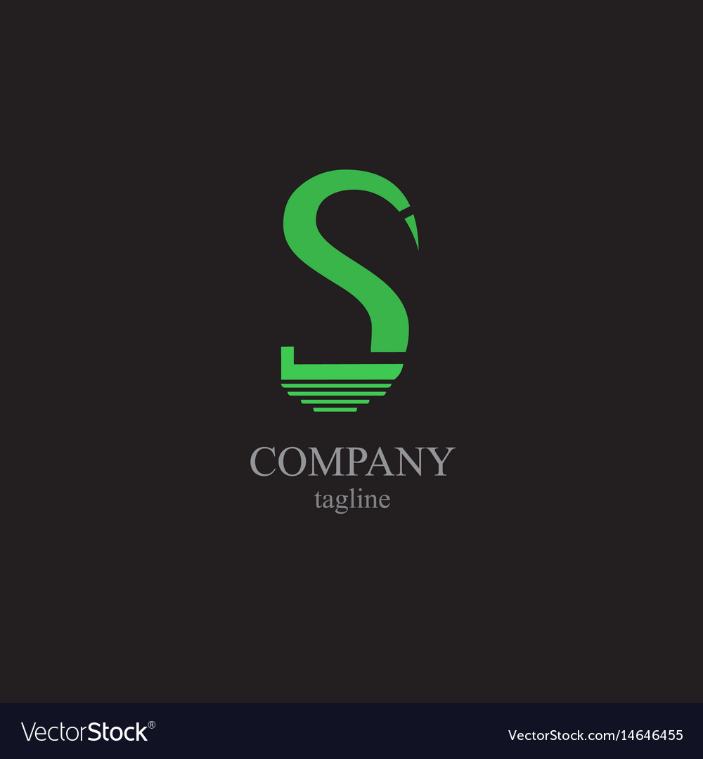 The letter s logo - a symbol of your business