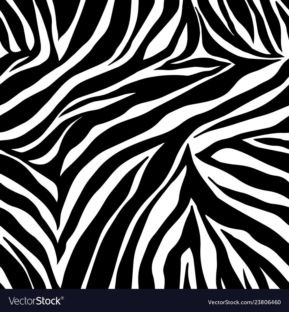 Animal print zebra ornament seamless