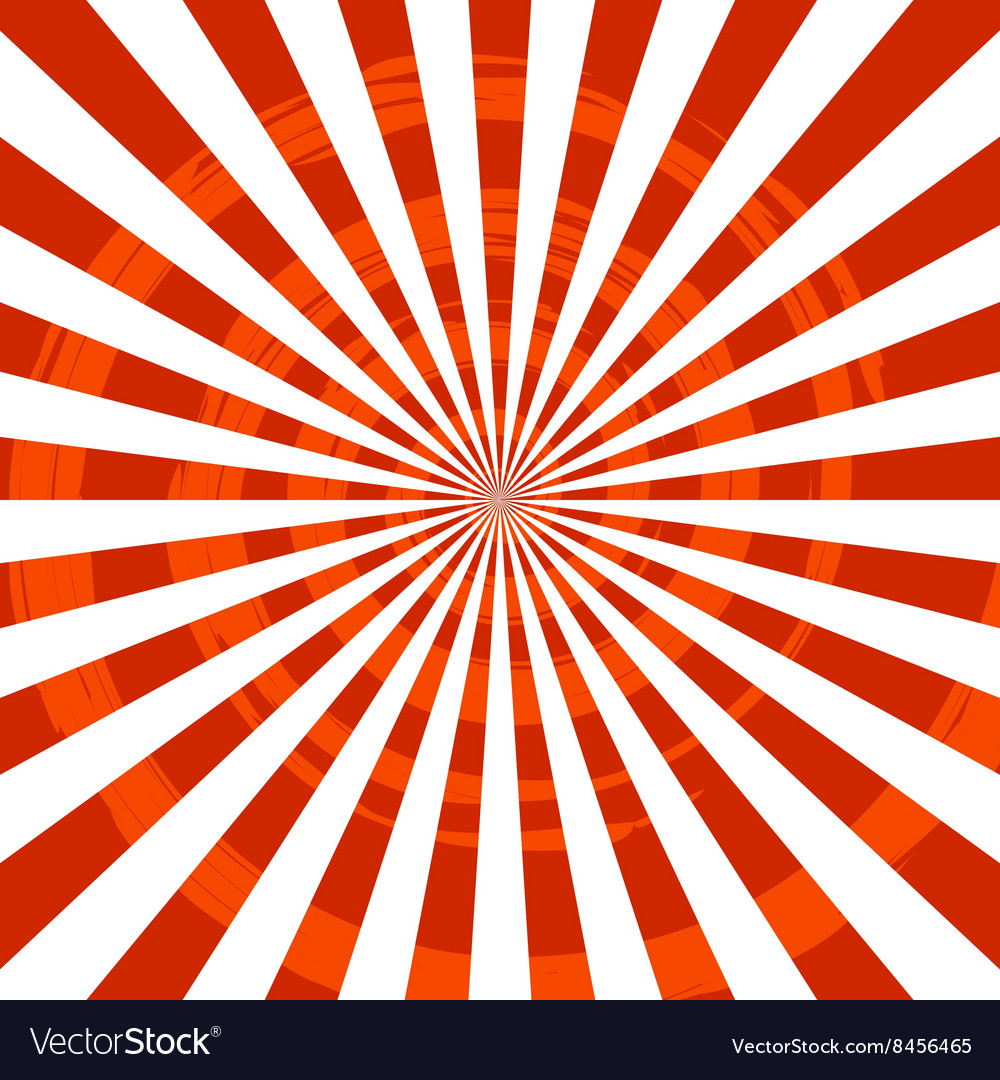 Abstract burst ray background red