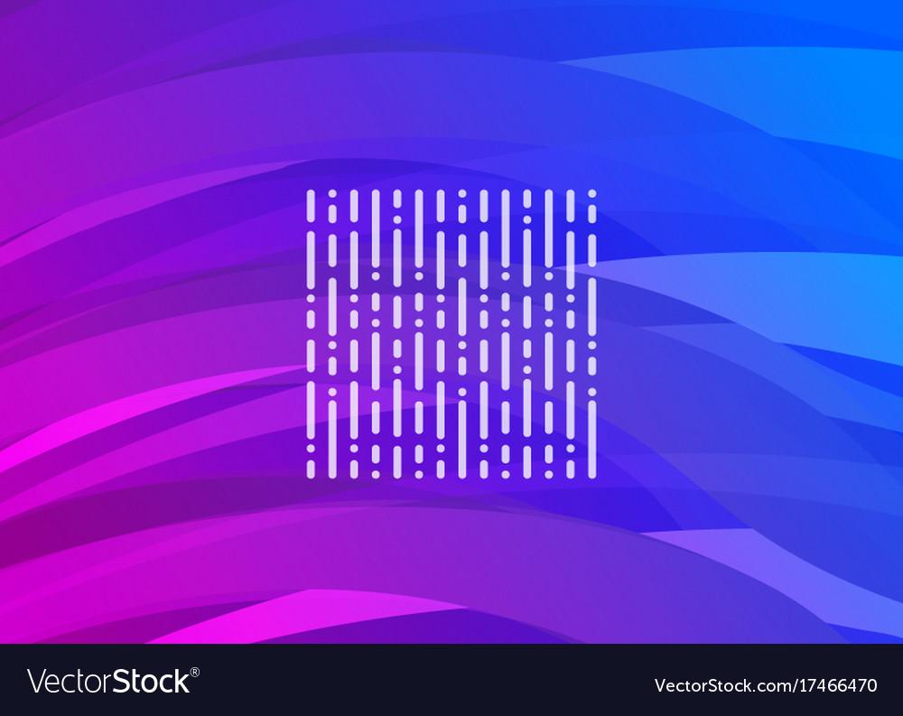 Purple-blue futuristic digital wave