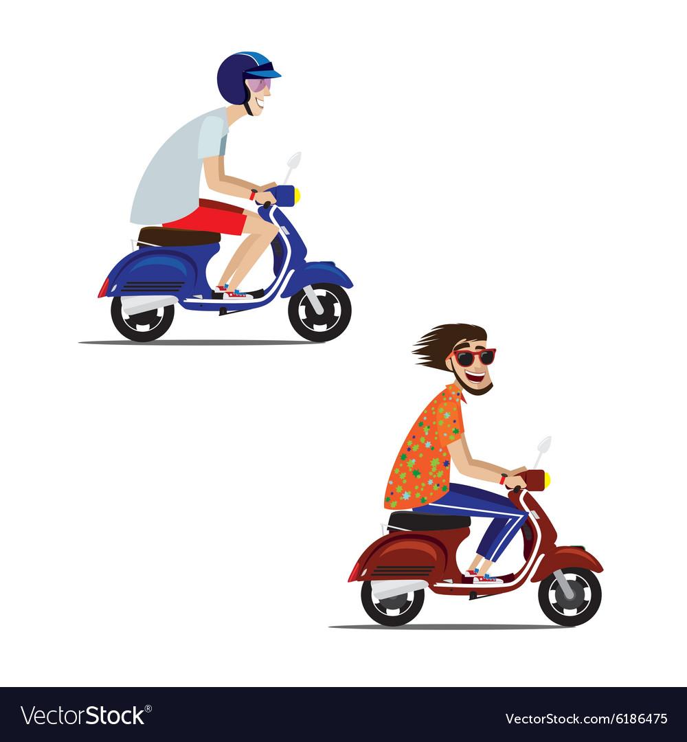 Motorcyclists set