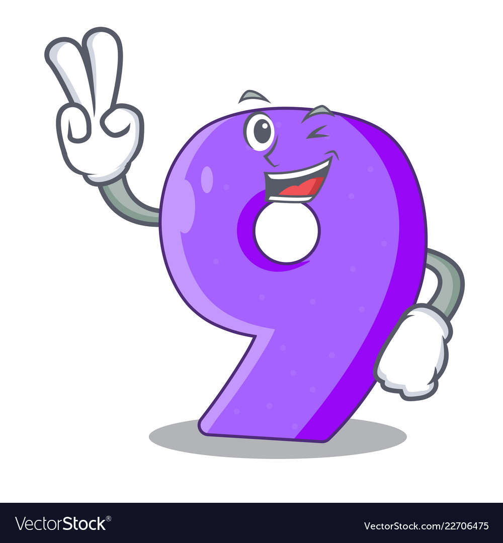two-finger-number-nine-athletics-the-shaped-vector-22706475.jpg