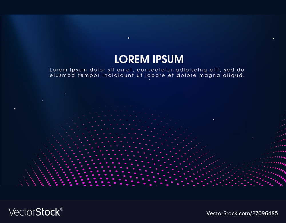 Abstract modern science background with particle
