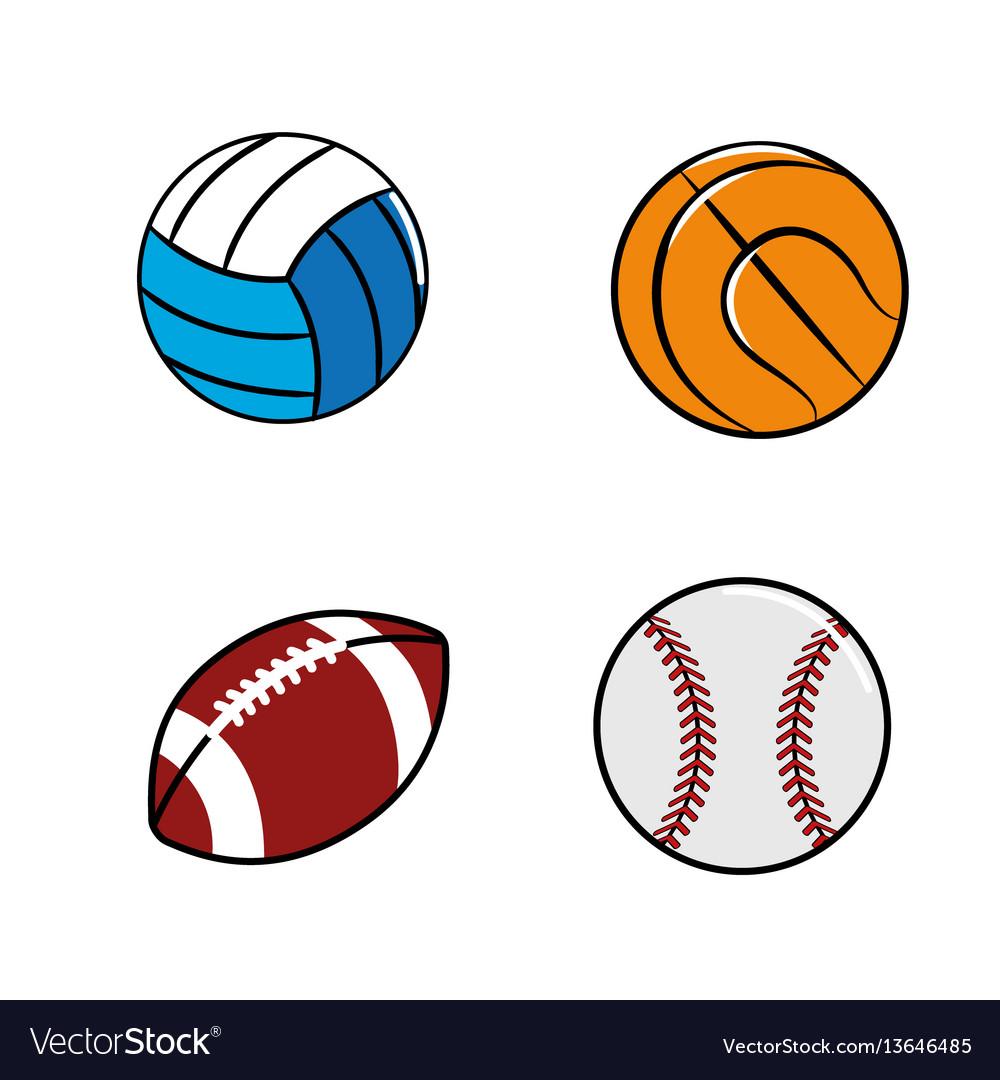 Color diferents plays balls icon