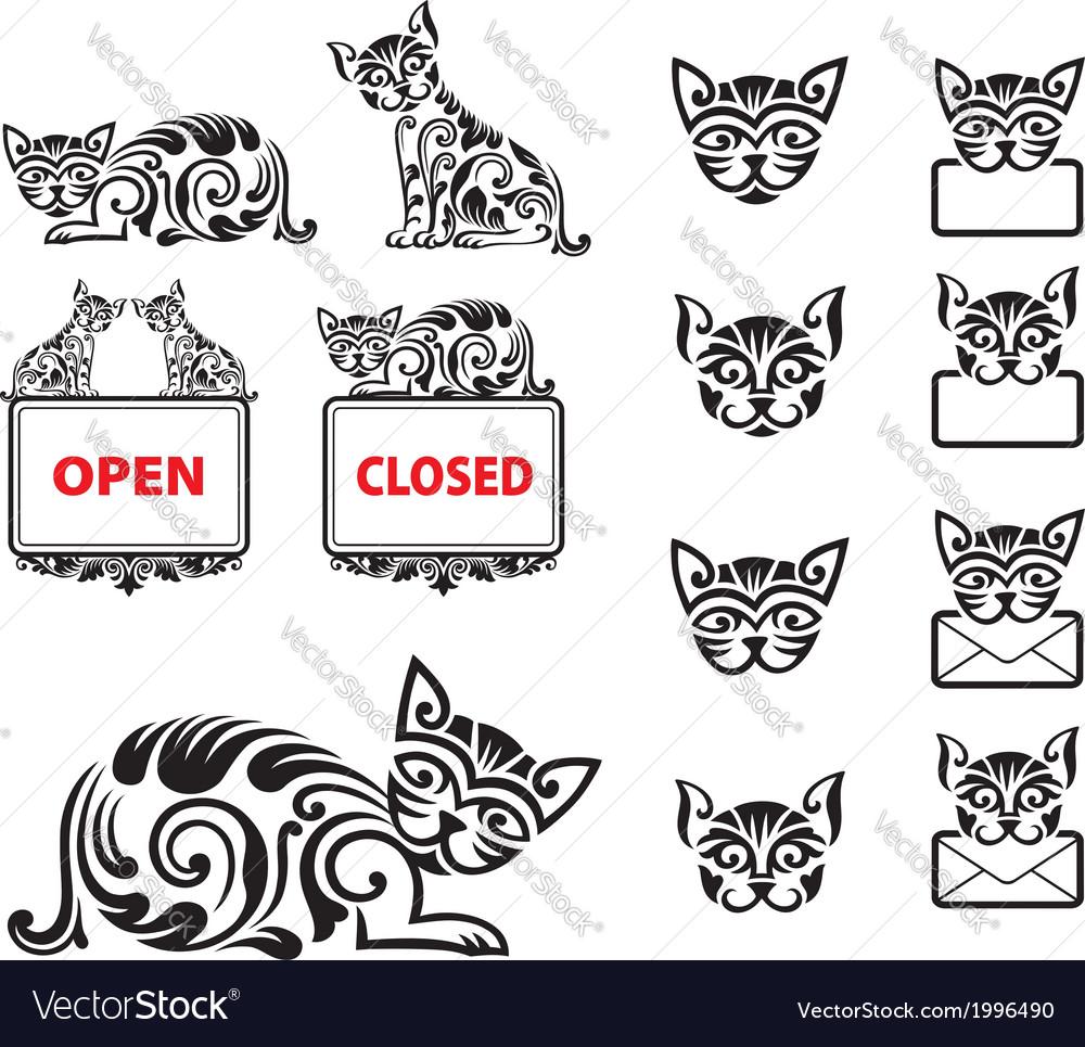 Cat Pattern Ornament Decoration