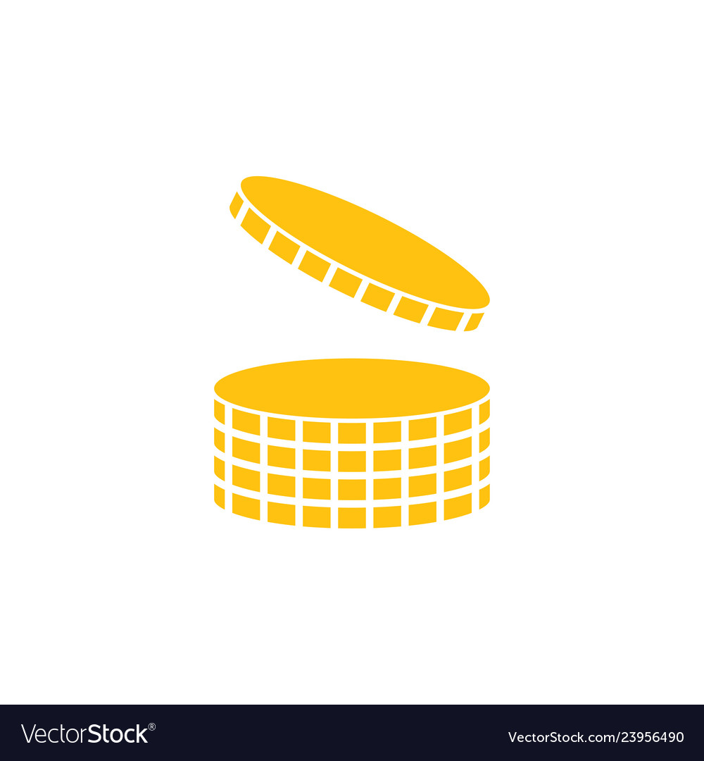 Coin icon design template